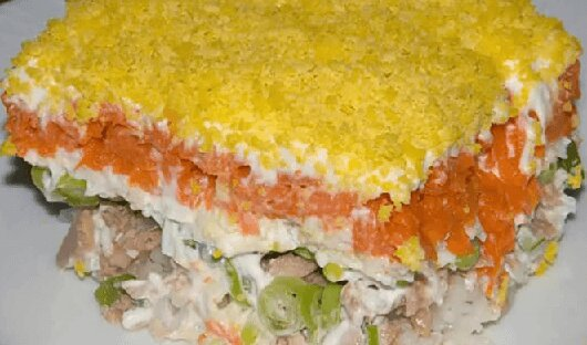Рецепты салатов с рыбой горячего копчения