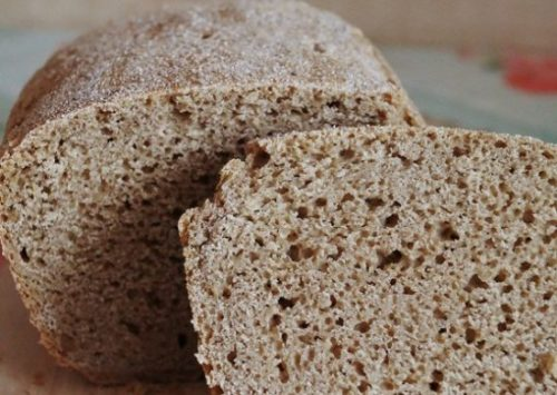 Тесто на закваске для хлеба