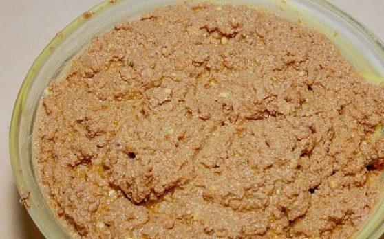 Домашний печёночный паштет из куриной печени